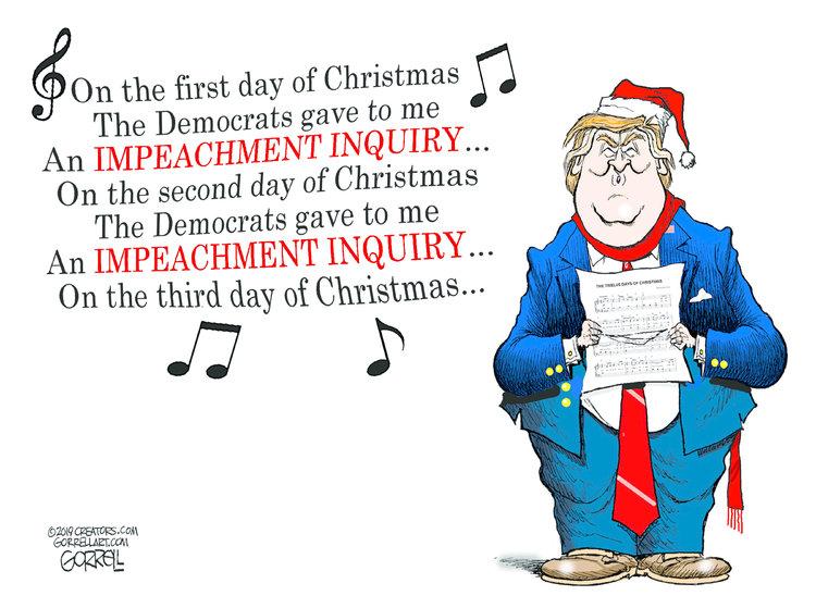 Bob Gorrell Comic Strip for December 06, 2019