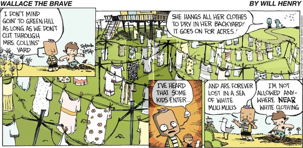 Wallace the Brave on Sunday September 1, 2019 Comic Strip