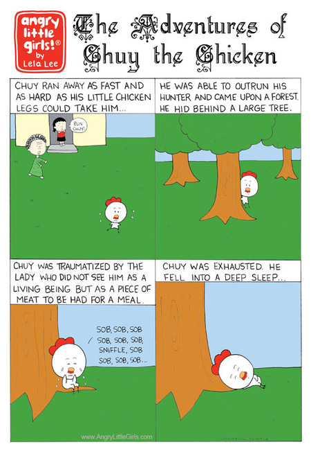 Angry Little Girls Comic Strip for December 10, 2018