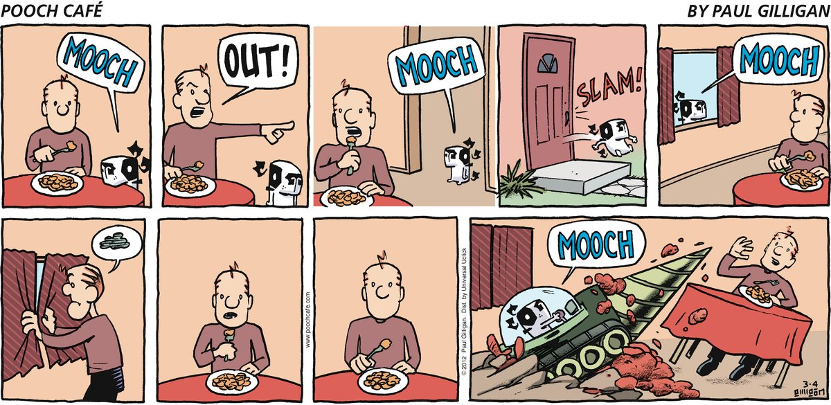 Pooch Cafe Comic Strip for March 04, 2012