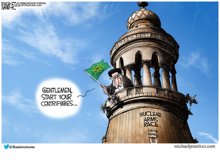 Michael Ramirez Comic Strip for April 16, 2021