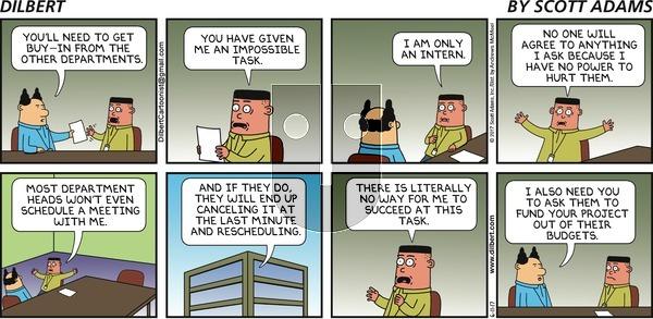 Dilbert on Sunday June 11, 2017 Comic Strip
