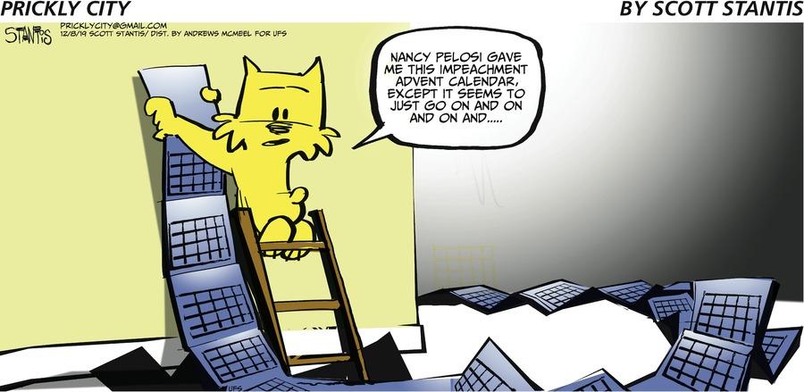 Prickly City Comic Strip for December 08, 2019