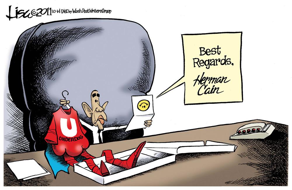 Lisa Benson Comic Strip for October 14, 2011