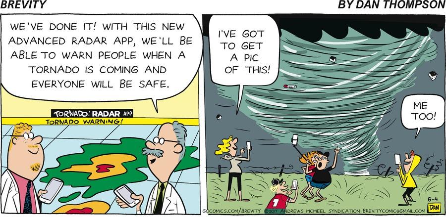 Brevity for Jun 4, 2017 Comic Strip