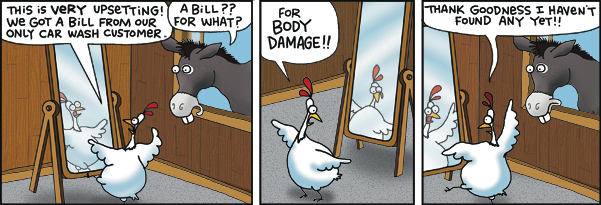 2 Cows and a Chicken for Aug 8, 2017 Comic Strip