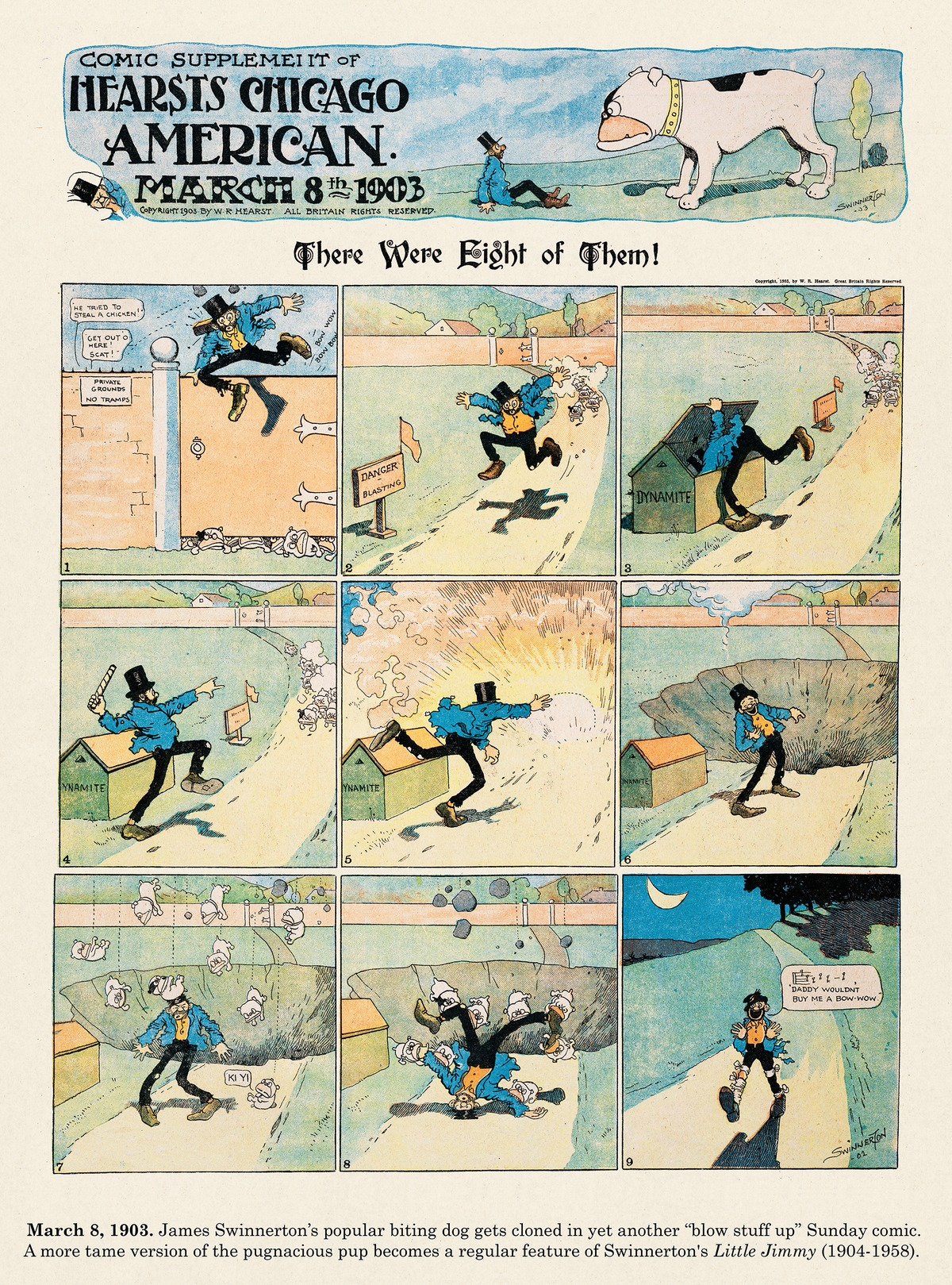 Origins of the Sunday Comics for Mar 16, 2014 Comic Strip