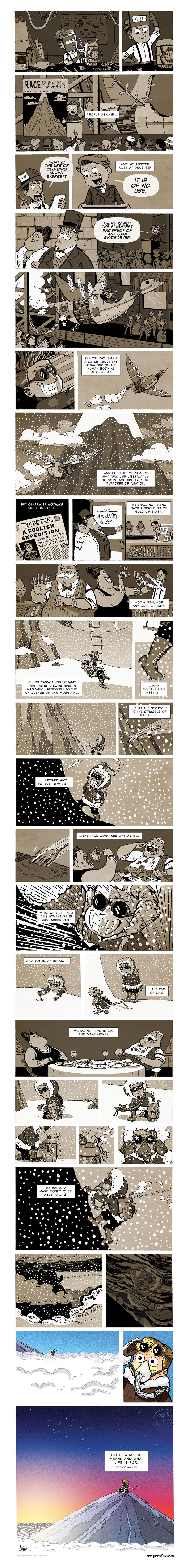 Zen Pencils Comic Strip for July 27, 2015