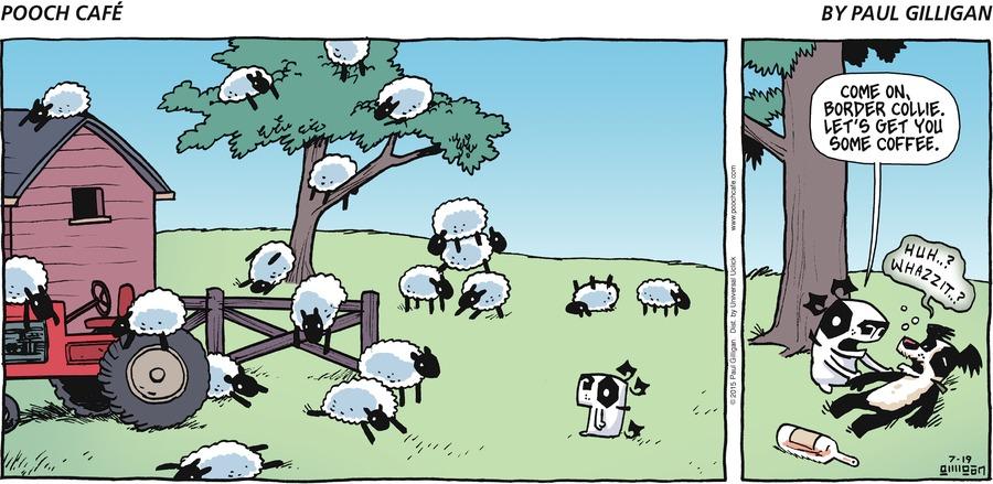 Pooch Cafe Comic Strip for July 19, 2015