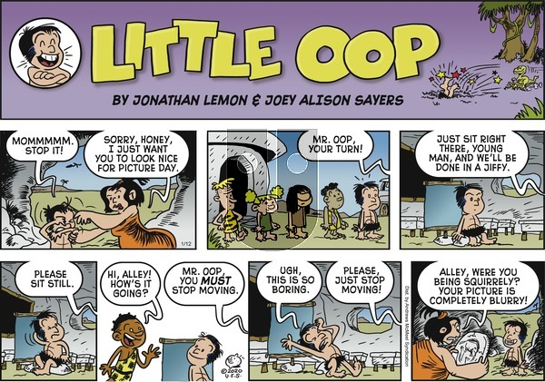 Alley Oop on Sunday January 12, 2020 Comic Strip
