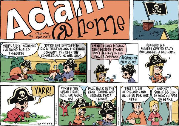Adam@Home on Sunday May 8, 2011 Comic Strip