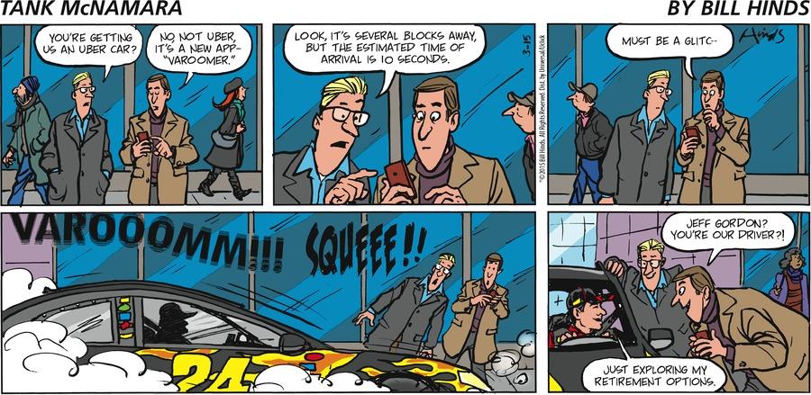 Tank McNamara Comic Strip for March 15, 2015