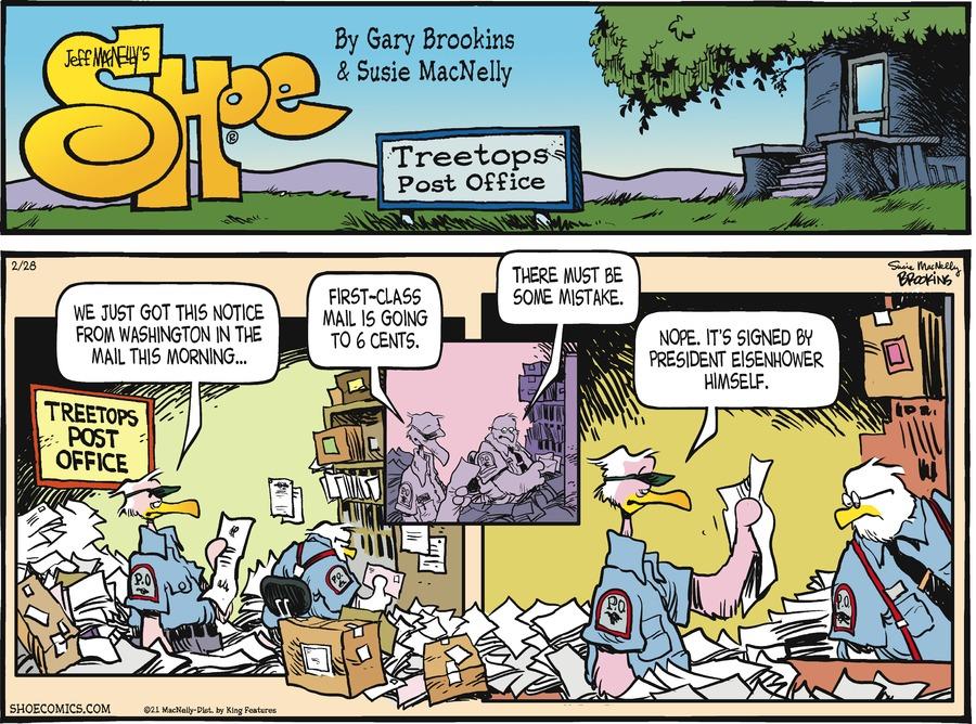 Shoe Comic Strip for February 28, 2021
