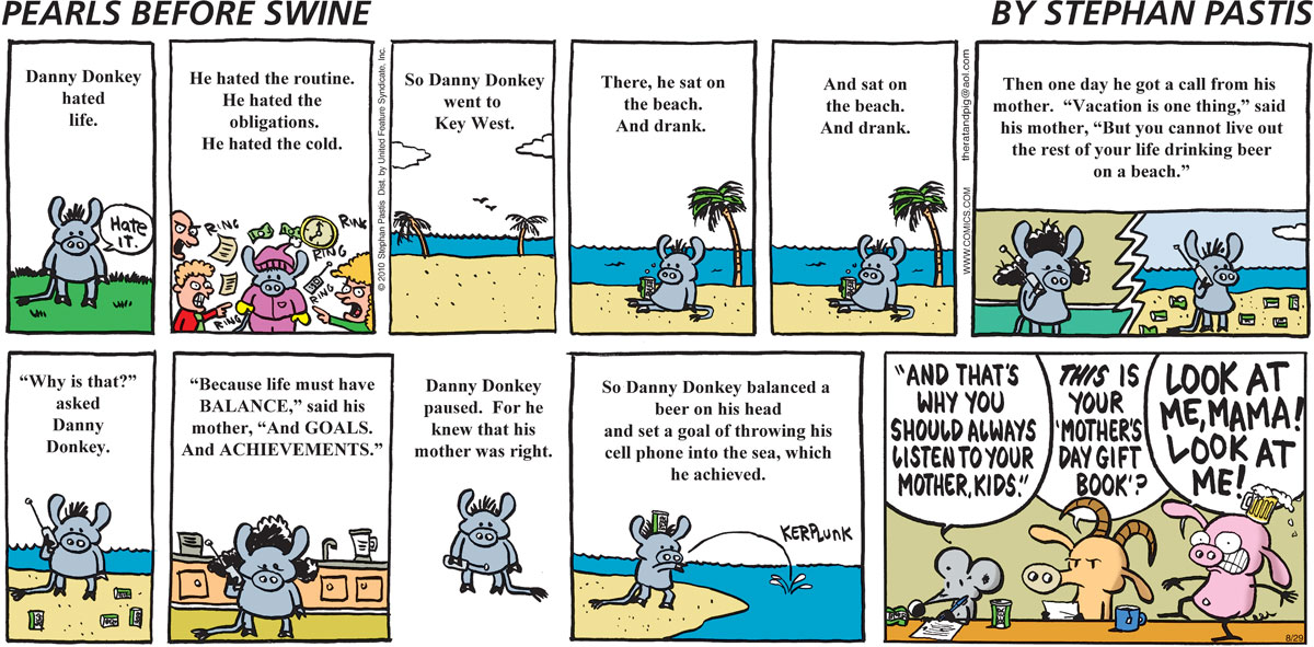 Pearls Before Swine Comic Strip for August 29, 2010