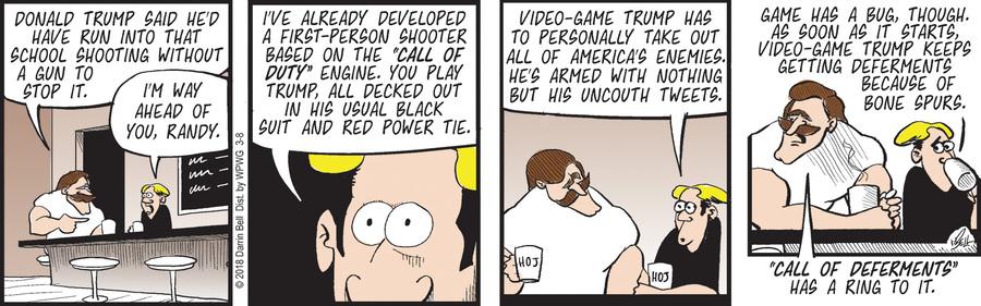 Rudy Park for Mar 8, 2018 Comic Strip
