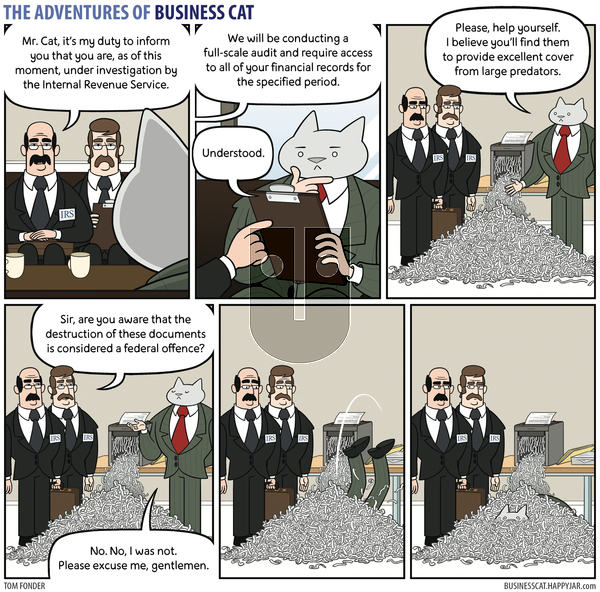 The Adventures of Business Cat on Thursday May 6, 2021 Comic Strip