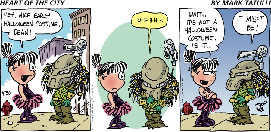 Heart of the City for Sep 30, 2012 Comic Strip