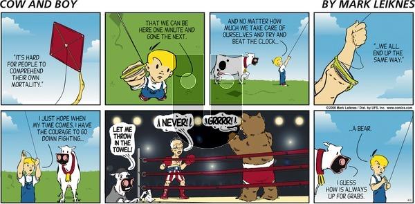 Cow and Boy Classics - Sunday April 6, 2008 Comic Strip