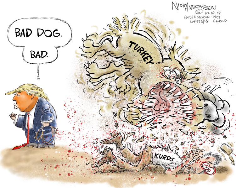 Nick Anderson Comic Strip for October 10, 2019