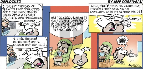 DeFlocked on Sunday June 7, 2020 Comic Strip