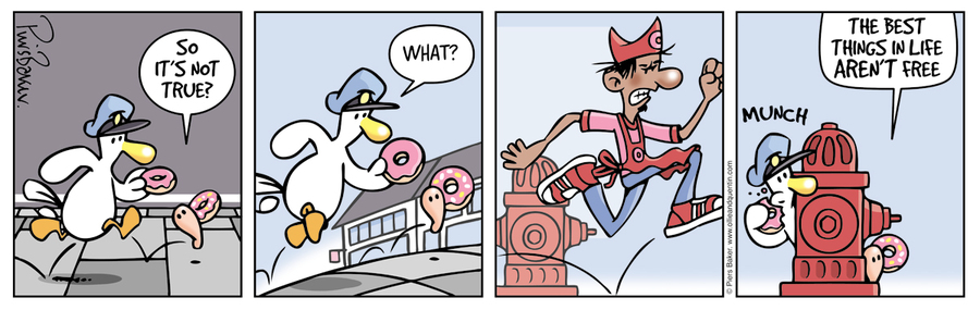 Ollie and Quentin Comic Strip for March 28, 2016