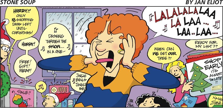 Stone Soup Comic Strip for December 06, 2009