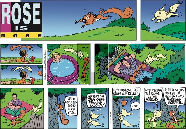 Rose is Rose on Sunday August 9, 2020 Comic Strip