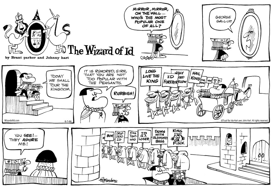 Wizard of Id Classics Comic Strip for July 31, 2016