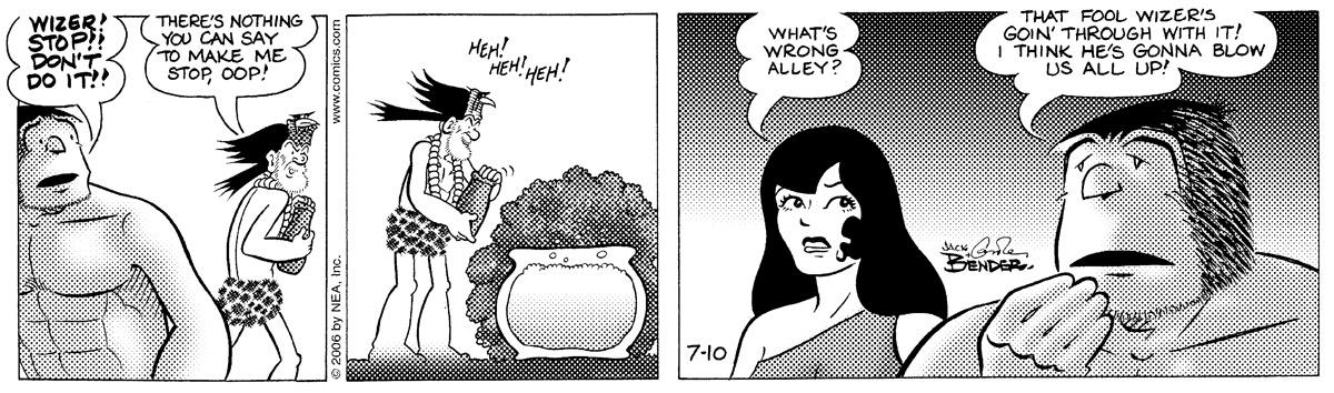 Alley Oop for Jul 10, 2006 Comic Strip