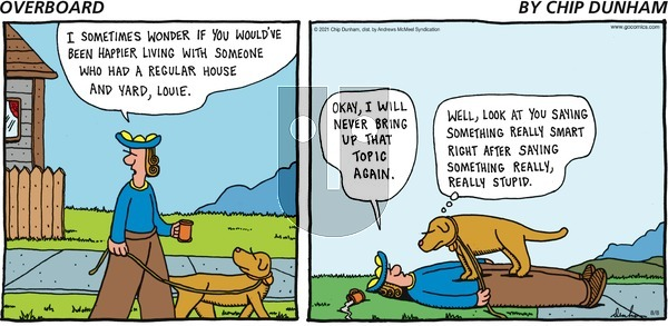 Overboard on Sunday August 8, 2021 Comic Strip