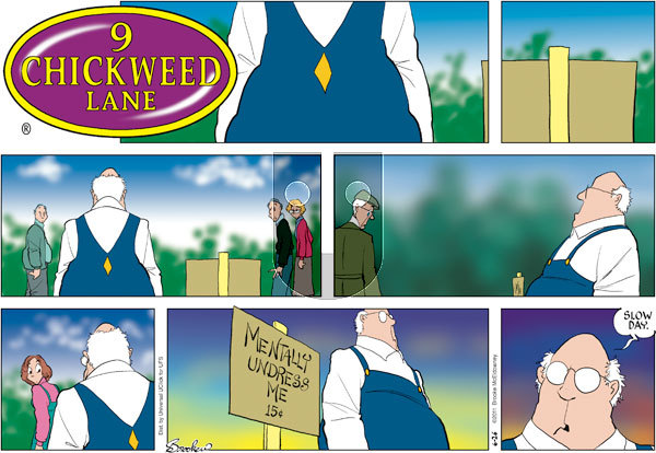 9 Chickweed Lane on Sunday June 26, 2011 Comic Strip
