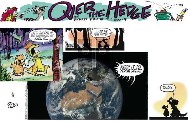 Over the Hedge on Sunday June 14, 2020 Comic Strip