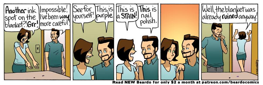Beardo Comic Strip for September 25, 2021