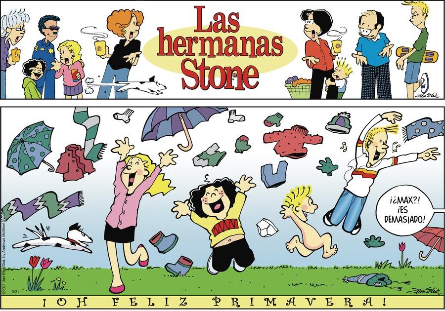 Las Hermanas Stone Comic Strip for March 21, 2021
