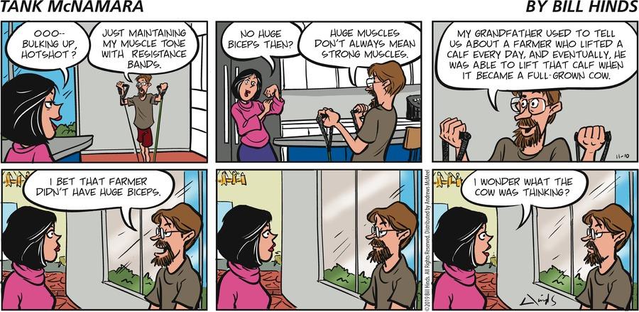 Tank McNamara Comic Strip for November 10, 2019