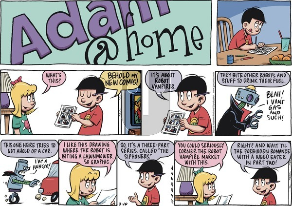 Adam@Home on Sunday March 10, 2019 Comic Strip