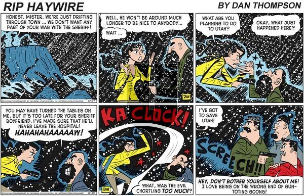 Rip Haywire - Sunday April 5, 2020 Comic Strip