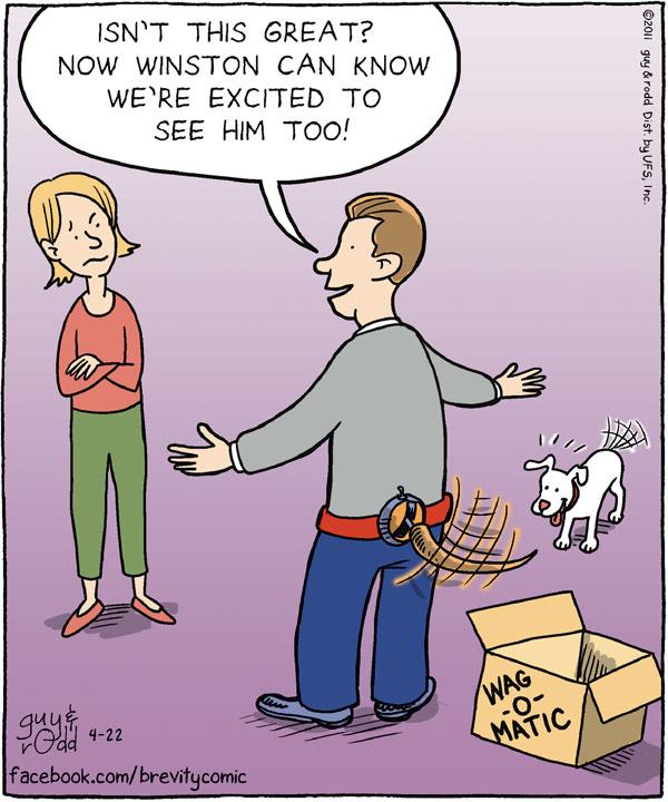 Brevity Comic Strip for April 22, 2011