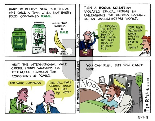 Ted Rall on Sunday December 9, 2018 Comic Strip