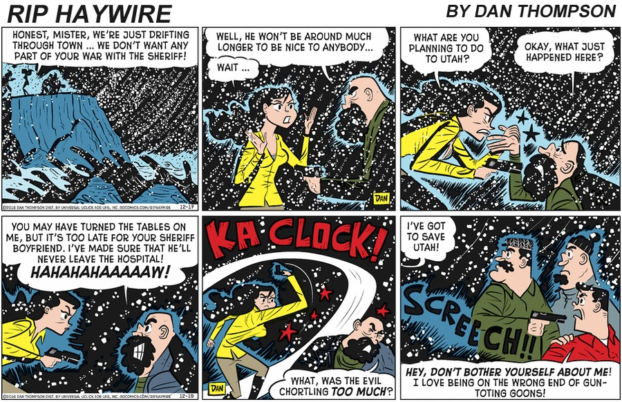 Rip Haywire Comic Strip for April 05, 2020