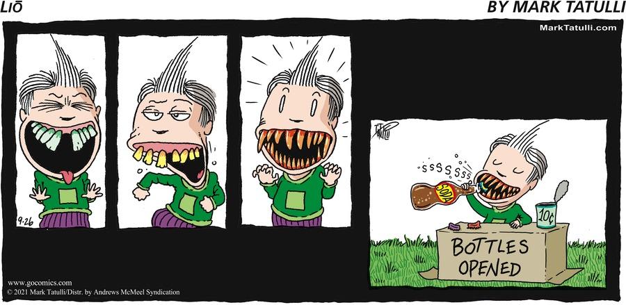 Lio Comic Strip for September 26, 2021