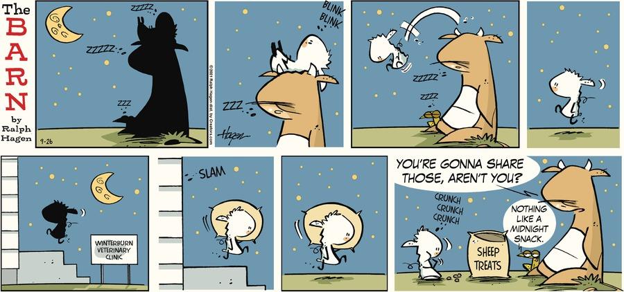 The Barn Comic Strip for September 26, 2021