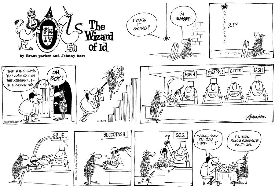 Wizard of Id Classics Comic Strip for April 11, 2021