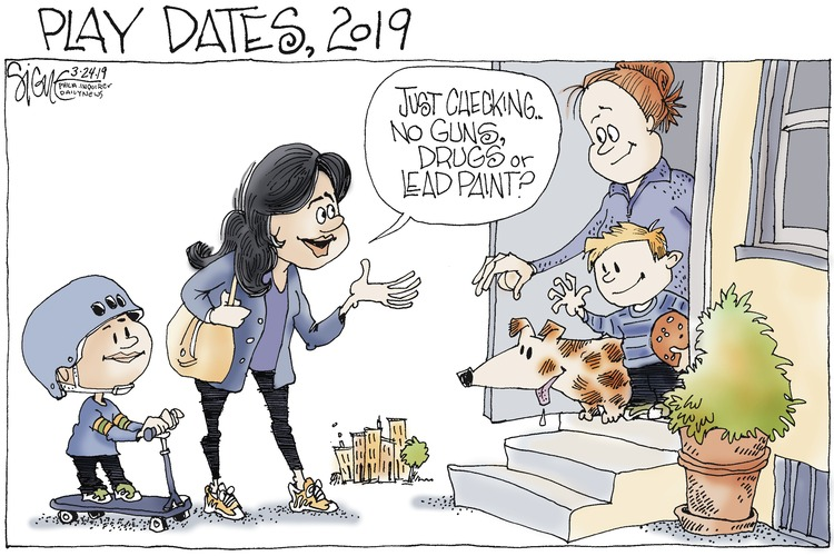 Signe Wilkinson by Signe Wilkinson for March 24, 2019