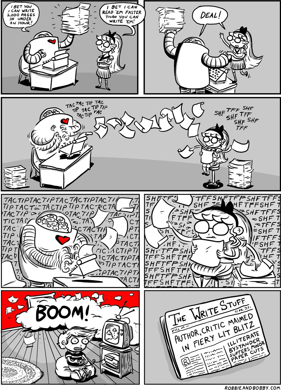 Robbie and Bobby Comic Strip for April 18, 2021