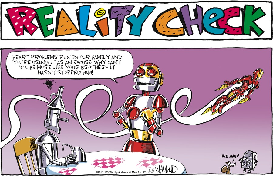 Reality Check for August 05, 2018 Comic Strip