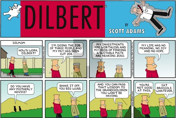 Dilbert - Sunday May 31, 2009 Comic Strip