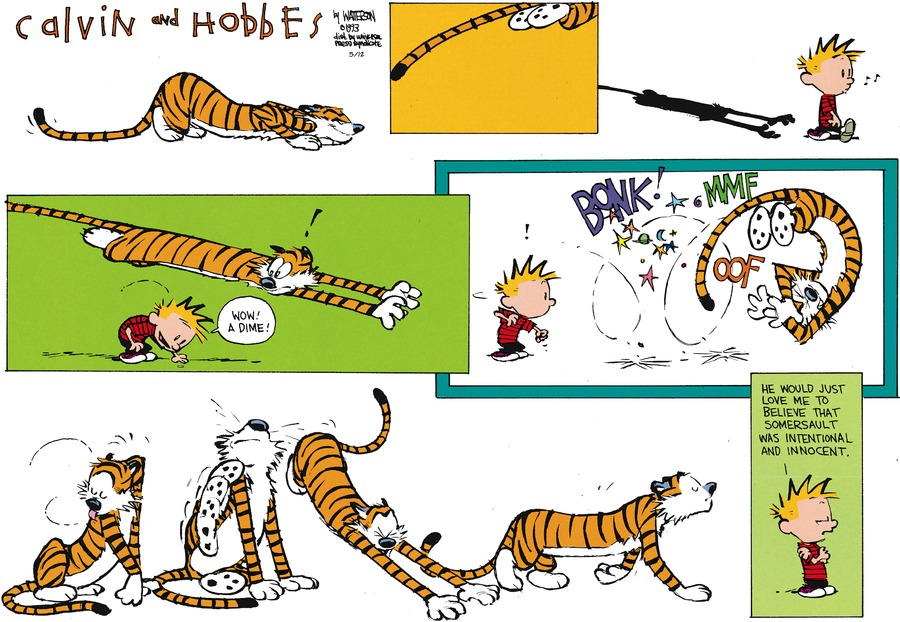 Calvin and Hobbes for May 12, 2013 Comic Strip