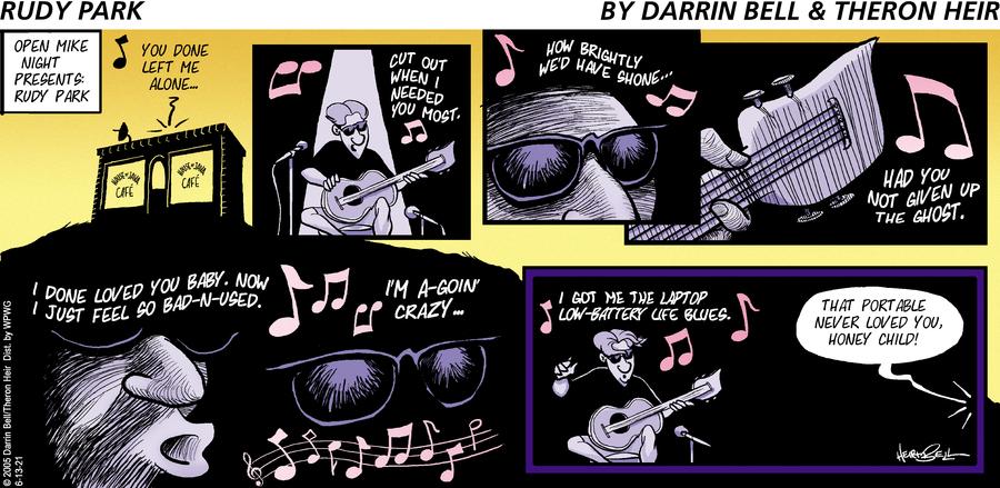 Rudy Park by Darrin Bell and Theron Heir on Sun, 13 Jun 2021