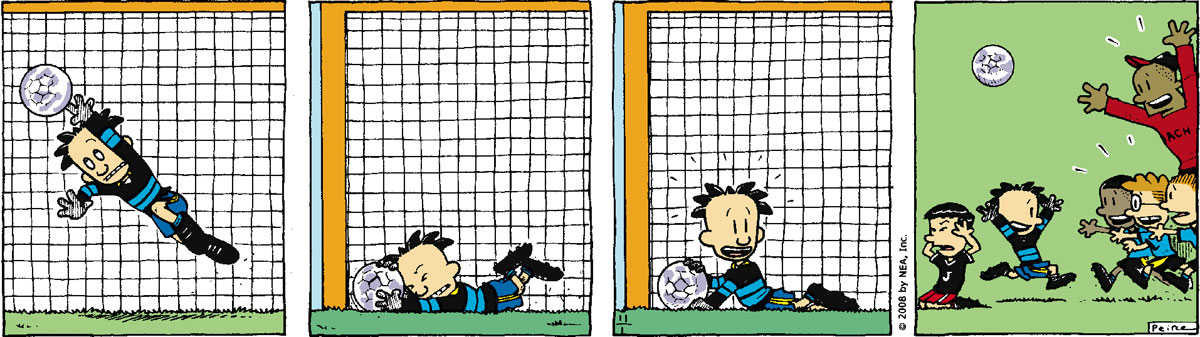 Big Nate Comic Strip for November 01, 2008